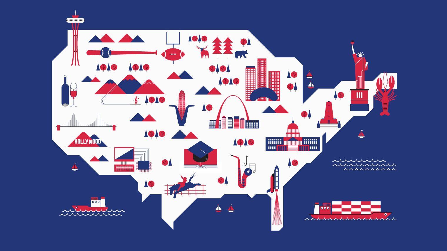 Séjour linguistique USA : où réserver votre voyage ?